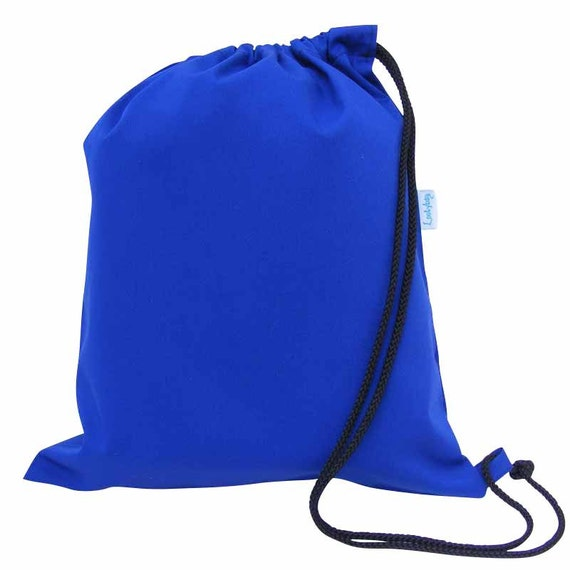 Pour enfants sac de PE, sac de sport, sac de sport sac, garçons, filles - bleu