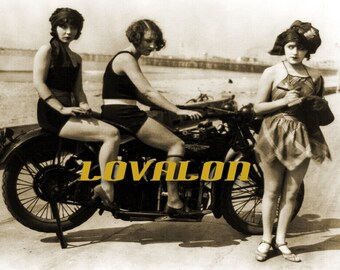 Mature biker mamas