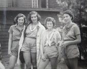 Original Girl Scouts...1930's Vintage Photo
