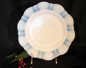 American Sweetheart 9 3 4 quot Dinner Plate Smoke Color by Macbeth-Evans