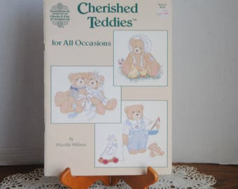 Cherished Teddies for all Occasions by Prscilla Hillman Designs By Gloria & Pat 1992