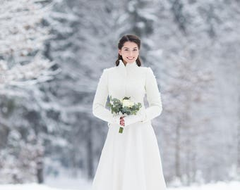 Alpaca bridal Jacket
