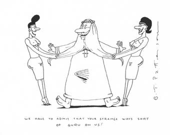 Guru on us cartoon!