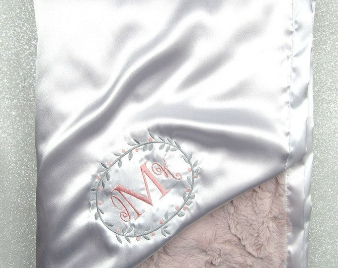 Custom Minky Blanket, personalized wedding gift, monogrammed blanket, Embroidered Blanket, wedding gift, personalized blanket, anniversary
