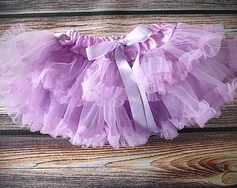 Pettiskirt, birthday skirt, cake smash skirt, tutu, ballerina tutu, ballet skirt, fluffy skit, cupcake skirt, lavender tutu, purple skirt