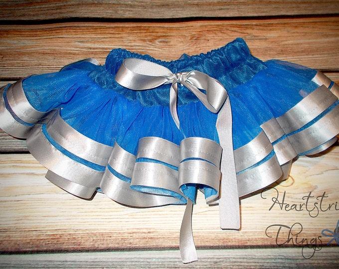 Pettiskirt baby skirt ribbon skirt birthday outfit cheerleader skirt Pettiskirt Satin Ribbon adapted from Petti Skirt for Baby or Child