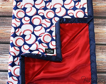Baby Minky Blanket, Sports Minky Blanket, Baseball Blanket, Basketball Blanket, Boy Minky, Baby boy blanket