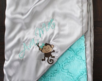 Custom embroidery to add to already purchased blanket