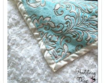 Satin Minky Blanket, Minky Blanket, Satin Blanket Minky, Soft Baby Blanket, Pink Blanket, Baby Minky, Adult Minky