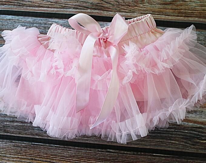 Pettiskirt, birthday skirt, cake smash skirt, tutu, ballerina tutu, valentines outfit, fluffy skirt, baby girl tutu, pink skirt, baby pink