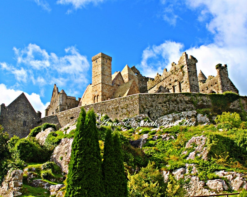 Groovy Ireland Photography Rock Of Cashel Irish Home Decor Ireland Travel Art St Patricks Rock Cashel County Tipperary Medieval Architecture Interior Design Ideas Apansoteloinfo