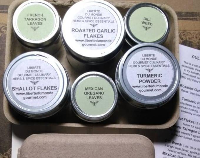 Gourmet Herb & Spice Sampler Set in Biodegradable Box