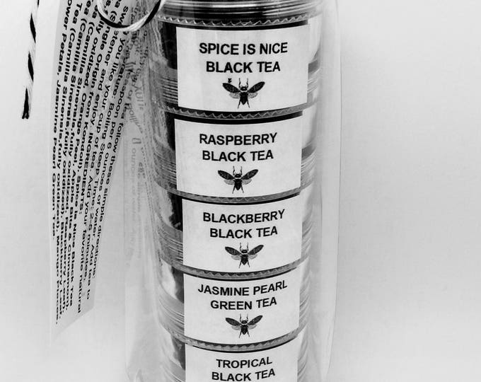 Loose Leaf Tea Sampler Set