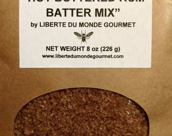 Hot Buttered Rum Batter Mix Holiday Beverage Mix