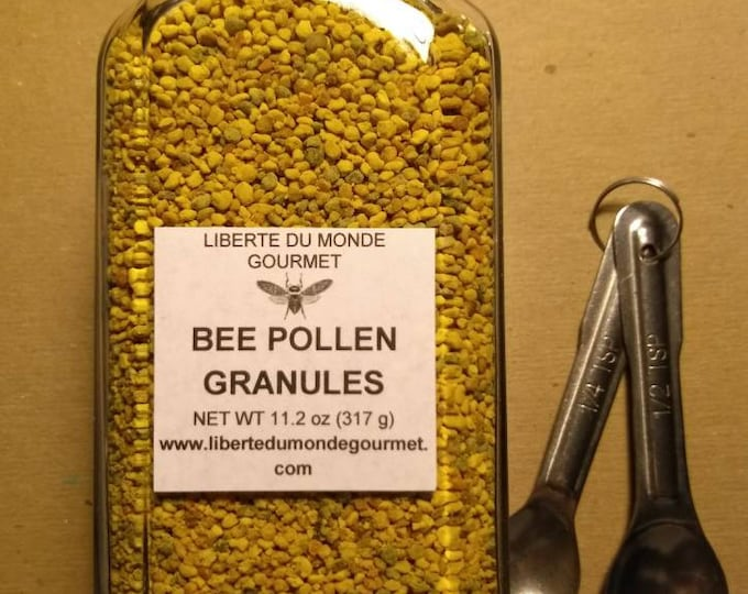 Bee Pollen Granules in a Variety of Sizes and Packaging