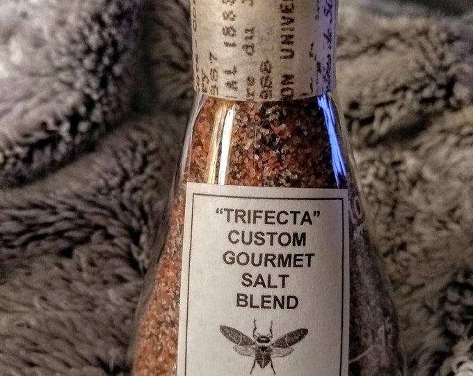Trifecta Custom Gourmet Salt Blend Limited Edition Packaging