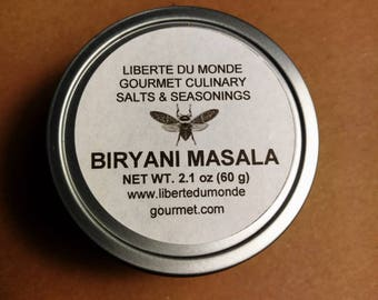 Biryani Masala in 4 oz Tin by Volume