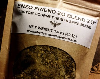 Enzo Friendzo Blendzo Custom Gourmet Herb & Spice Seasoning