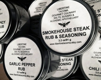 Gourmet Rubs & Seasonings Part 1