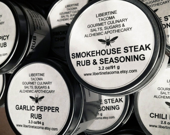 Gourmet Rubs & Seasonings in a Variety of Sizes Part 1