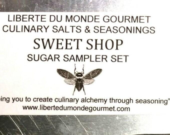 10 Tin Sweet Shop All Natural Sugar Sampler Set