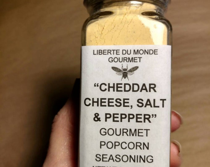 Cheddar Cheese, Salt & Pepper Gourmet Popcorn Seasoning