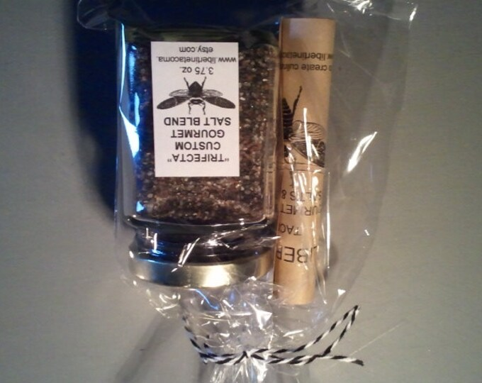 Trifecta Custom Gourmet Salt Blend in a Variety of Packaging