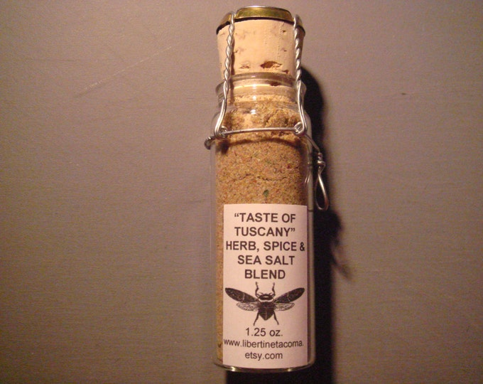 Taste of Tuscany Gourmet Sea Salt in a Variety of Packaging