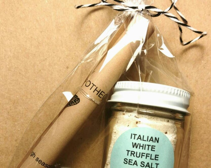 Italian Truffle Sea Salt
