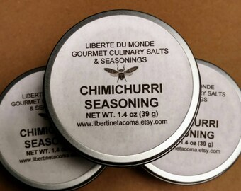 Chimichurri Seasoning Blend in 4 oz Tin by Volume