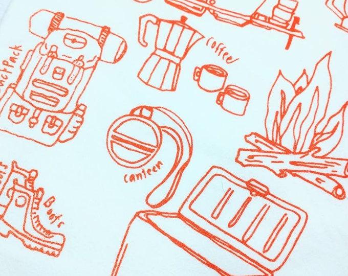 Flour Sack Tea Towel Assorted Styles Original Artwork