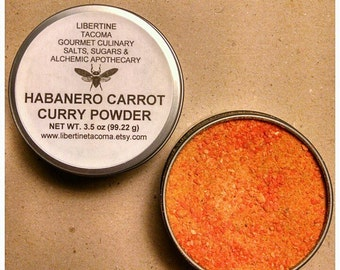 Habanero Carrot Curry Powder Blend