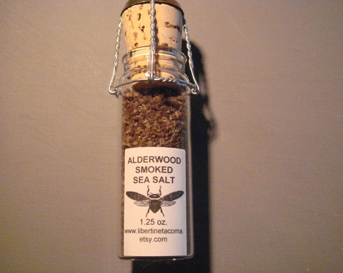 Alderwood Natural Smoked Sea Salt in a Variety of Sizes