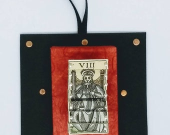 Mini Vintage Italian Tarot Pin Sculpture