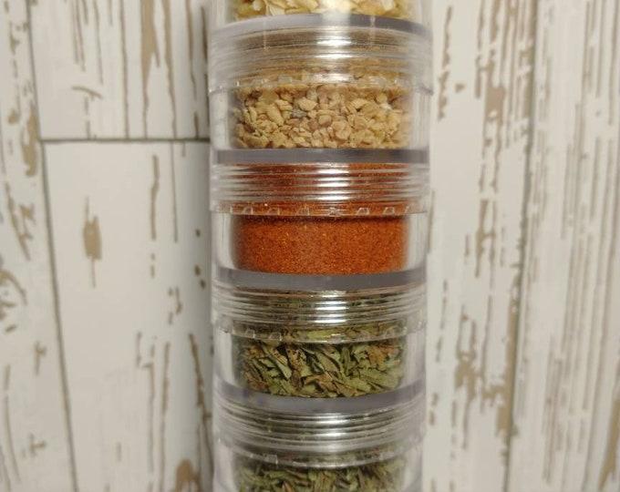 Campout Essentials 5 Jar Herb & Spice Set