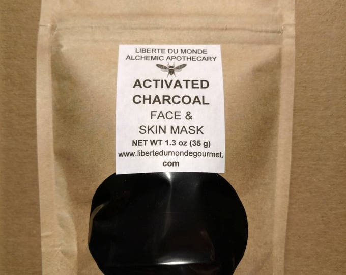 Activated Charcoal Powder Face & Skin Mask