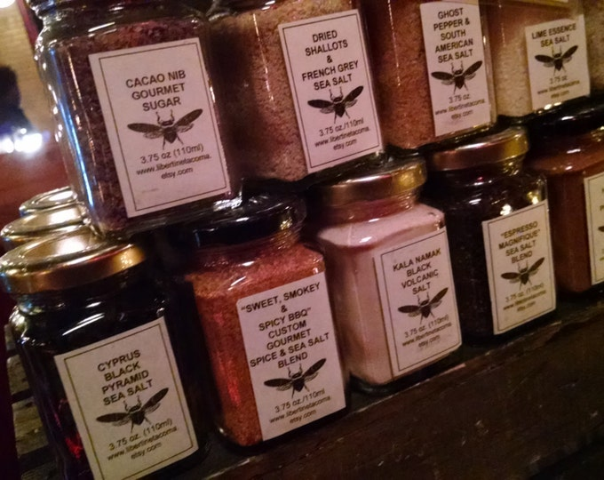 Gourmet Salts & Blends In a Variety of Sizes