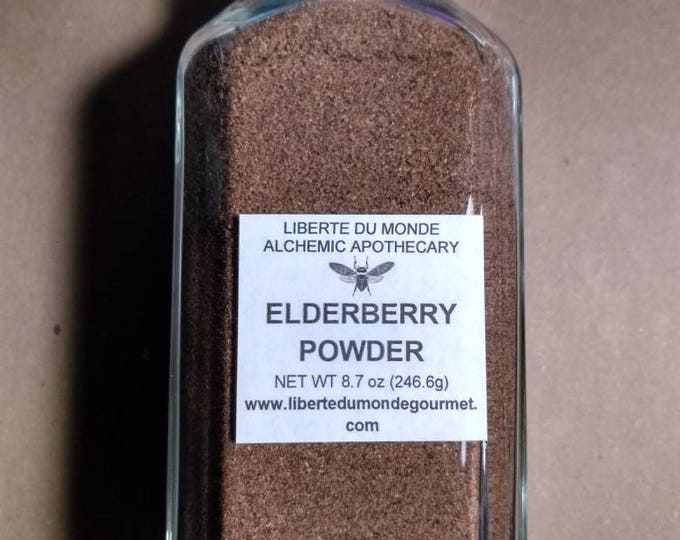 Elderberry Powder in a Variety of Sizes and Packaging