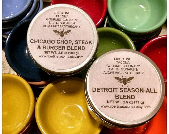 Chicago, Detroit Gourmet Seasoning Blends & Nashville Hot Chicken and Chop