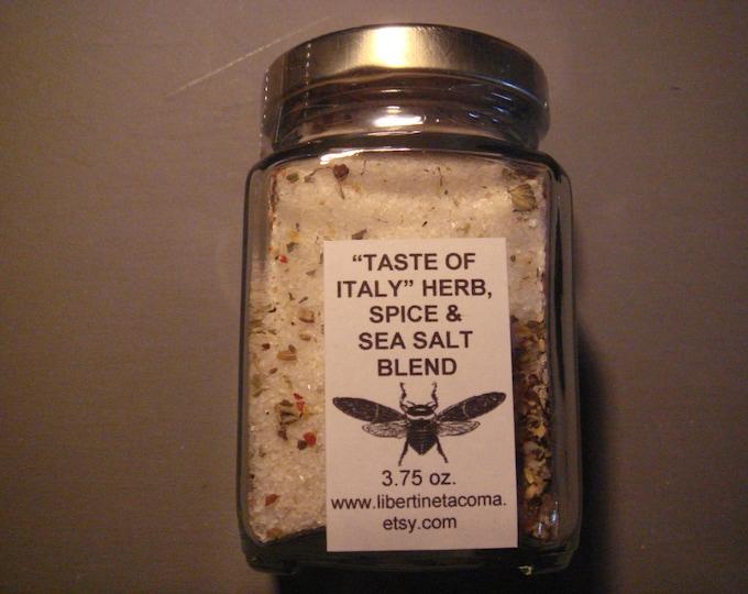 Taste of Italy Custom Gourmet Herb, Spice & Salt Blend