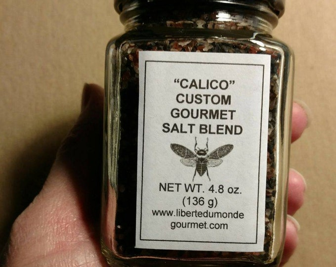 Calico Gourmet Sea Salt Blend in a Variety of Packaging