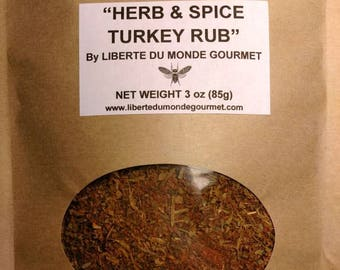 Herb, Spice & Sea Salt Turkey Rub