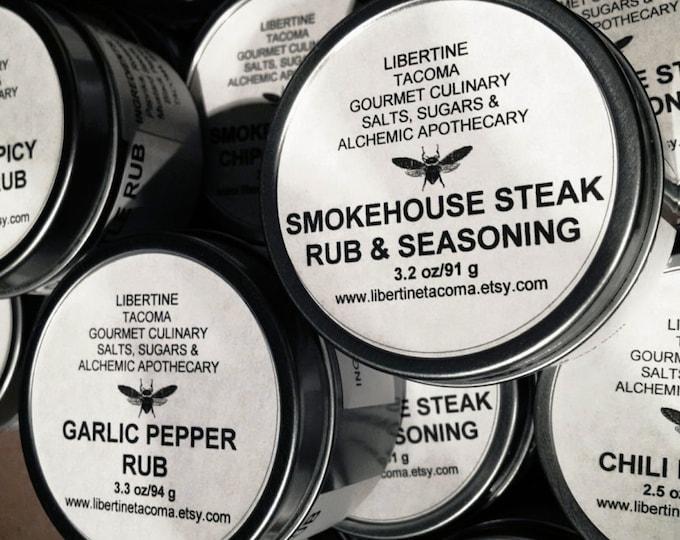 Gourmet Rubs & Seasonings Part 1