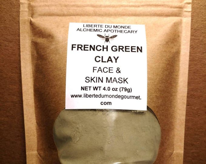 French Green Clay Powder Face & Skin Mask