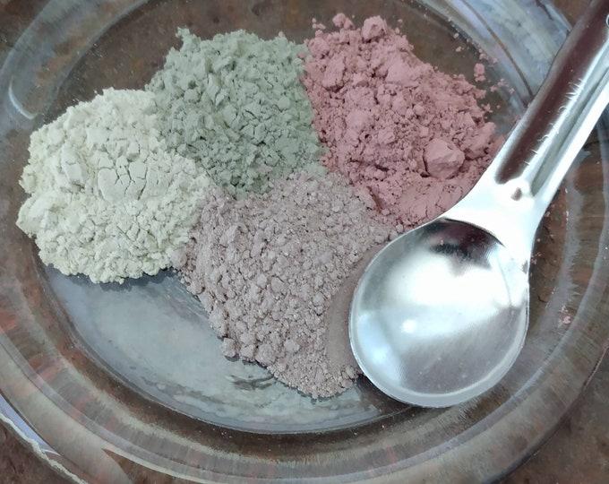 Pure Clay Mask Sampler Set