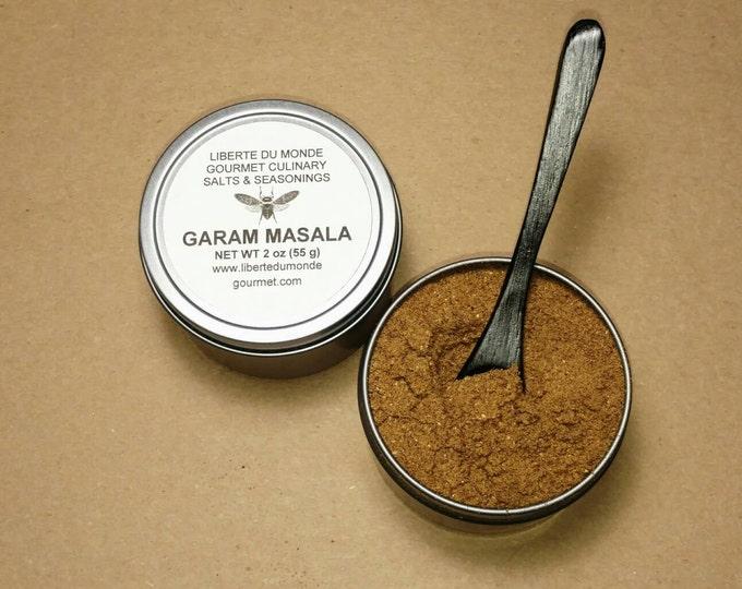 Garam Masala Spice Blend in Food Safe 4 oz Resealable Tin by Volume