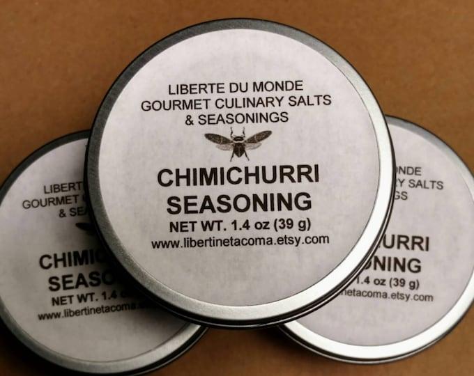 Chimichurri Seasoning Blend in 4 oz Tin by Volume