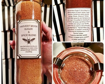 Harvest Moon Sugar & Spice Blend in a Variety of Packaging
