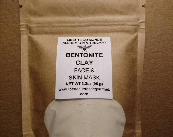 Bentonite Clay Powder Face & Skin Mask