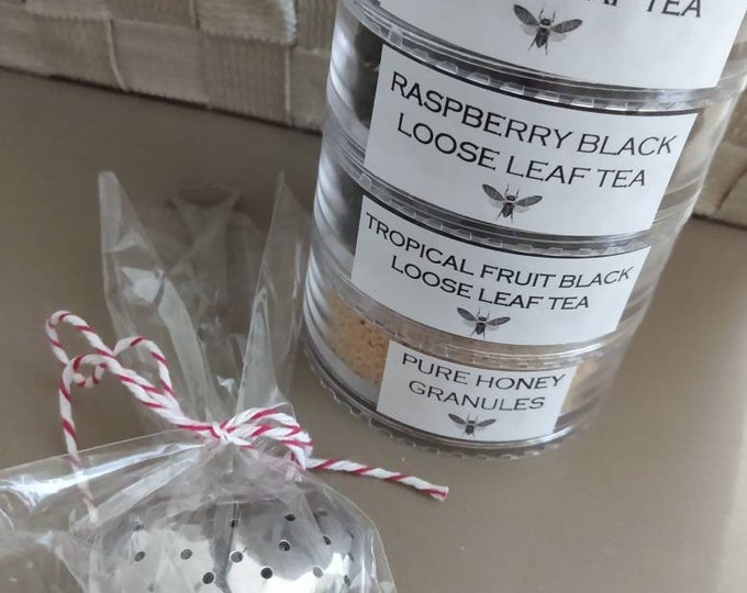 Loose Leaf Tea Sampler Set and Tea Diffuser
